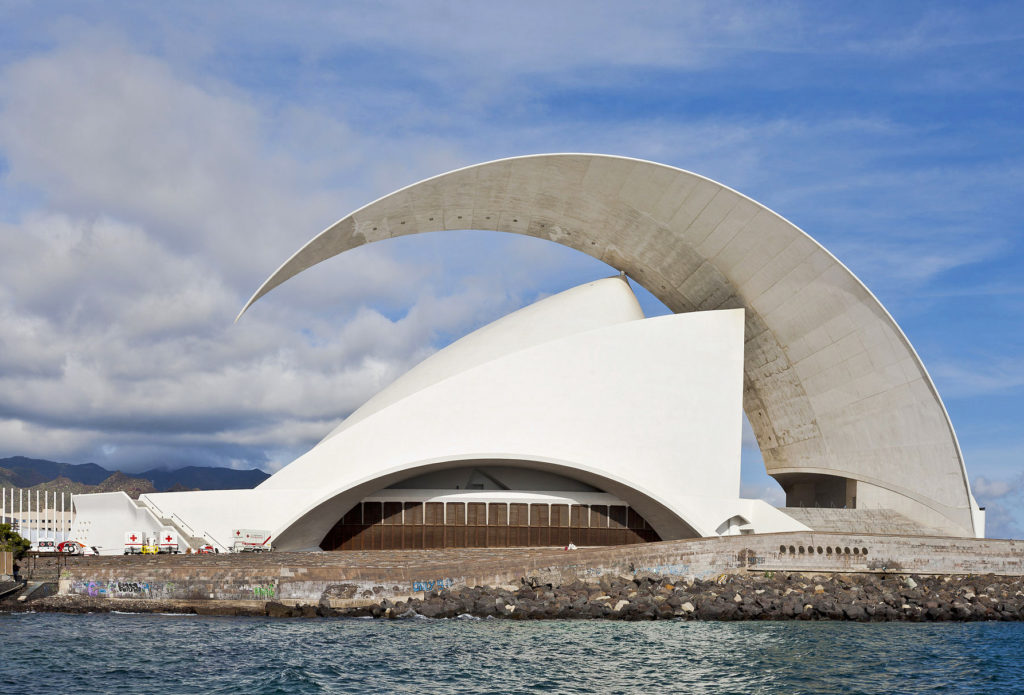 Auditorio de Tenerife in Canary Islands